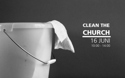 Clean the church!