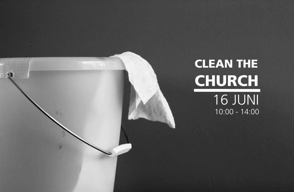 Clean the church!