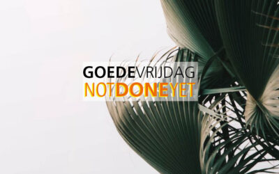 Goede Vrijdag 2021 / YOU'RE NOT DONE WITH ME YET